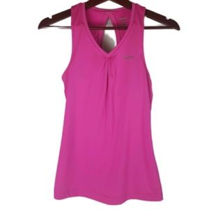 REEBOK Play Dry Sports Hot Pink Athletic Tank Top